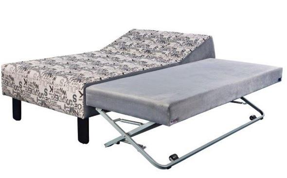 מיטה וחצי עם מיטה תחתונה - דגם דיה