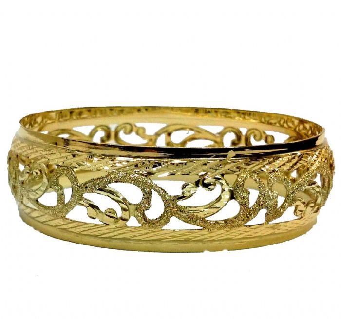 צמיד זהב מרוקאי תחרה