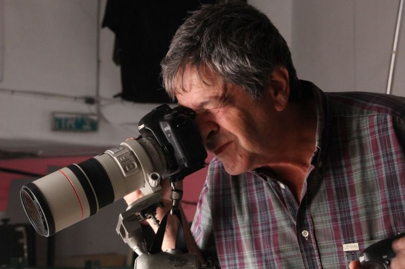 פטר בוגדן, צלם חובב