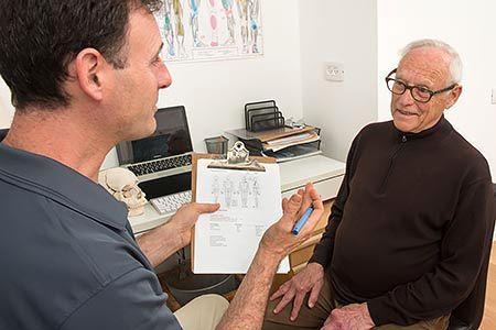 אוסטאופטיה - טיפול בגיל השלישי