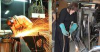 עבודה בסדנת ברזל