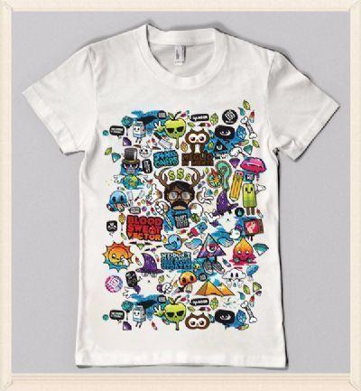חולצות מודפסות במרכז