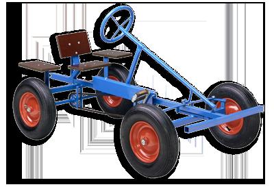 דגם של מכונית הפדלים הראשונה של ברג