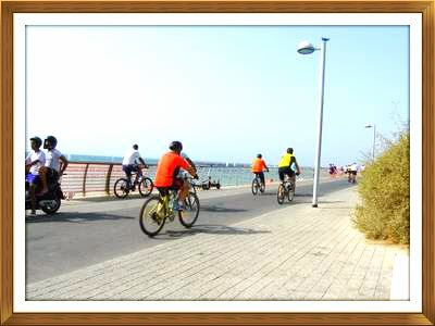 מסלול אופניים בתל אביב