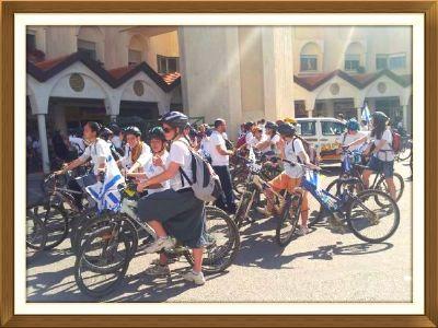 מסע אופניים קרית ארבע