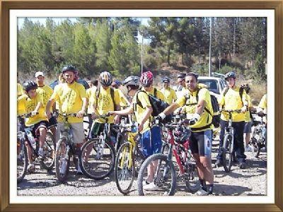 מסע אופניים משפחה אחת 2