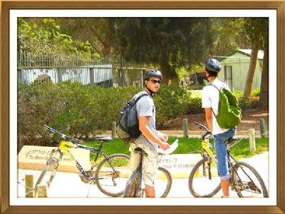 מסלול אופניים בשדה בוקר