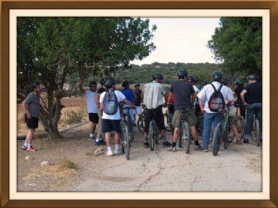 מסלולי אופניים בחירבת מדרס