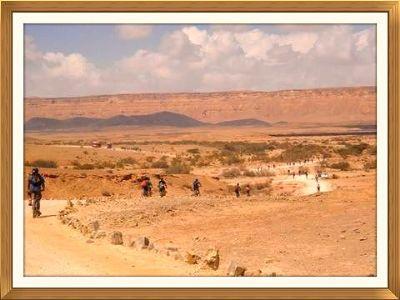 מסלול אופניים במכתש רמון