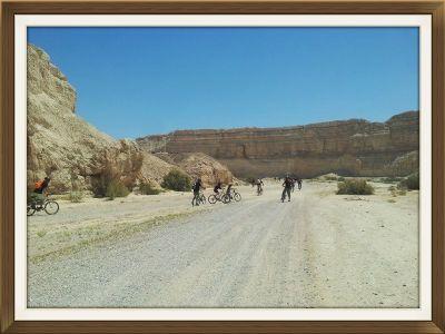 מסלול אופניים בצומת זוהר