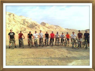 מסלולי אופניים בנחל פרצים