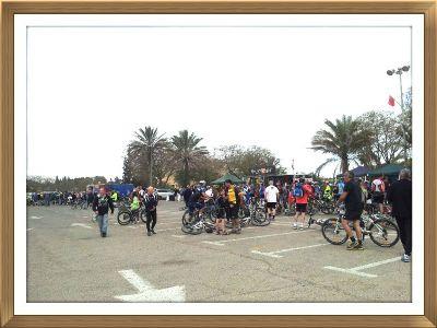 מסע אופניים נעים על גלגלים 2