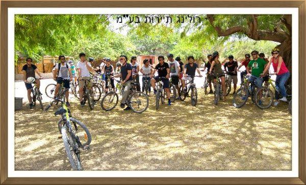 טיול אופניים מספינת המדבר 1