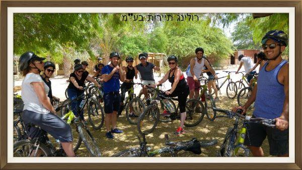 טיול אופניים ספינת המדבר
