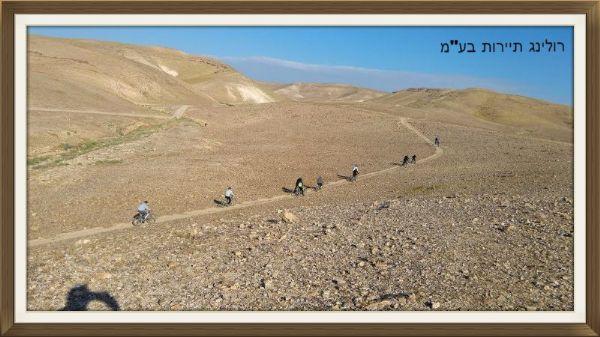 מסלול אופניים בבקעת קנאים