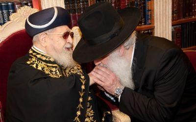 מורנו ורבנו עם גדולי ישראל