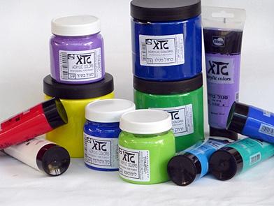 סדרת צבעי אקריליק XTC