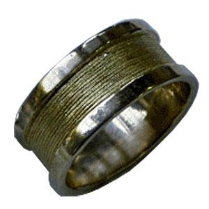 טבעת לגבר, טבעת זהב לגבר, מתנה לגבר, עמוס